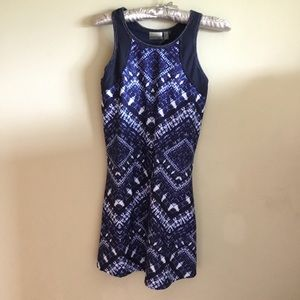 Nannette Lepore Play Batik Dress w/built in bra S